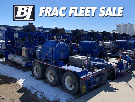 BJ Services - Frac Fleet Sale - NEW DATE TBD