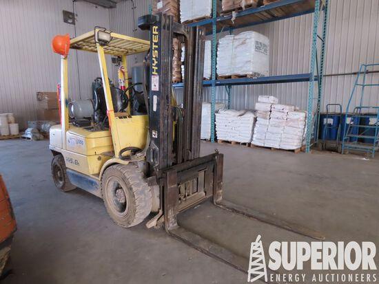 (1-2) 2013 HYSTER 5700# Forklift, S/N-D177B44624V,
