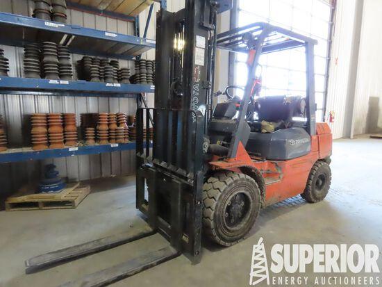 (1-3) 2006 TOYOTA 7FGU30 6000# Forklift, S/N-70516