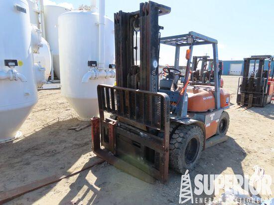 1998 TOYOTA 52-6FB35 7700# Forklift, S/N-10051, p/