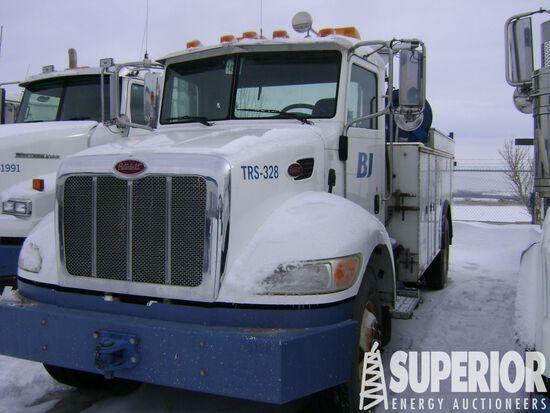 (x) (1-11) 2011 PETERBILT 337 S/A Maintenance Truc
