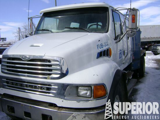 (x) (1-14) 2007 STERLING Acterra Crew Cab S/A Flat