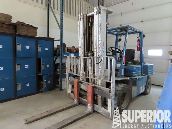 (1-5) TOYOTA SFD-35 8000# Forklift, S/N-10607, p/b
