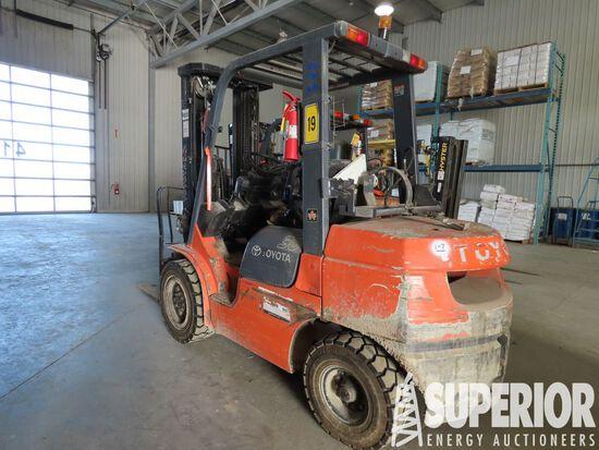 (1-7) 2006 TOYOTA 7FGU30 6000# Forklift, S/N-70507