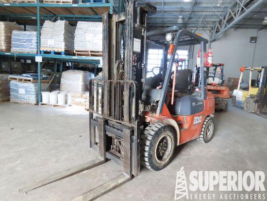 (1-8) 2006 TOYOTA 7FGU30 6000# Forklift, S/N-70477