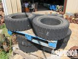 (6) 8.15-15x7.00 & (4) 6.50-10x5.00 Solid Forklift