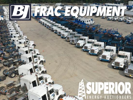 BJ Services - Frac Equipment Auction