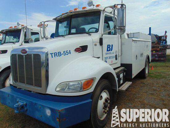 (x) 2013 PETERBILT 337 S/A Maintenance Truck, VIN-