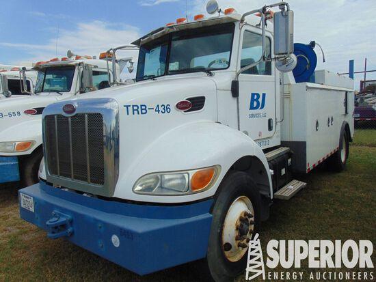 (x) 2012 PETERBILT 337 S/A Maintenance Truck, VIN-