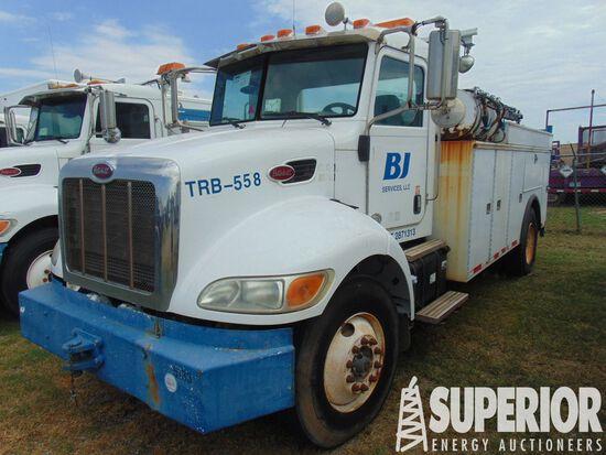 (x) 2011 PETERBILT 337 S/A Maintenance Truck, VIN-