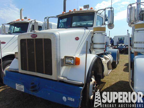 (x) 2011 PETERBILT 367 T/A Winch Truck, VIN-1XPTD4