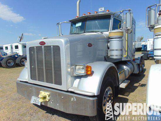 (x) 2014 PETERBILT 367 T/A Truck Tractor w/ Sleepe