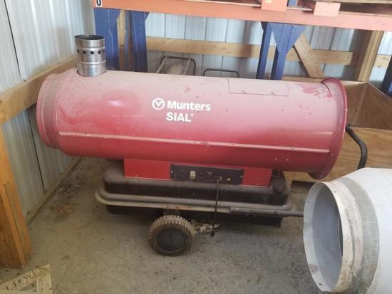 Munters MIR 85 WU 288,000 BTU Heater