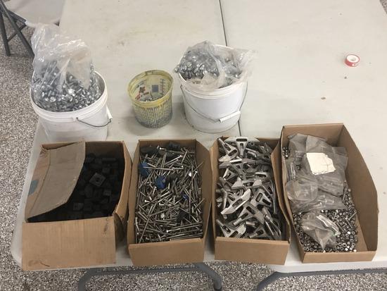 Slat Locks and Assortment of Bin Bolts