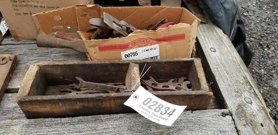 Woods Planes and Old Wrenches