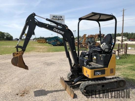 2016 Deere 17G Mini Excavator [YARD 1]