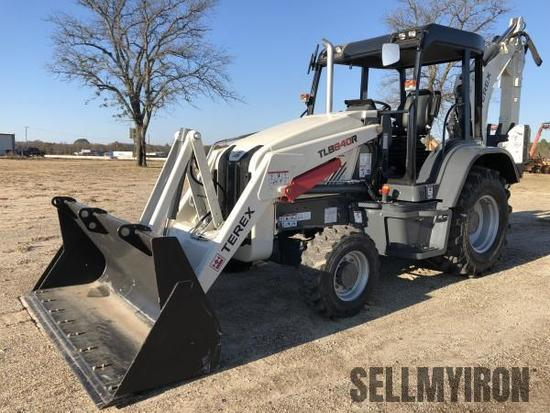 2017 Terex TLB840R 4x4 Loader Backhoe [YARD 1]