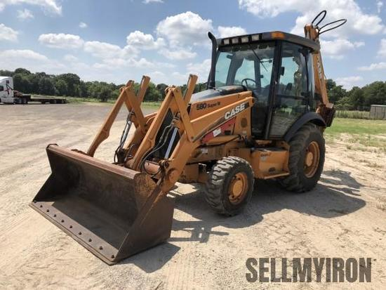 2005 Case 580 Super M Series 2 4x4 Loader Backhoe [YARD 1]
