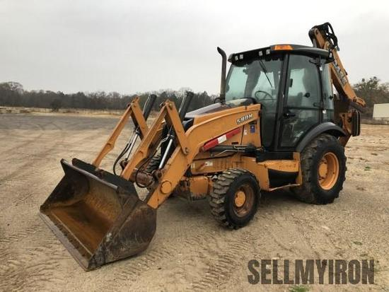 2012 Case 580N 4x4 Loader Backhoe [YARD 1]