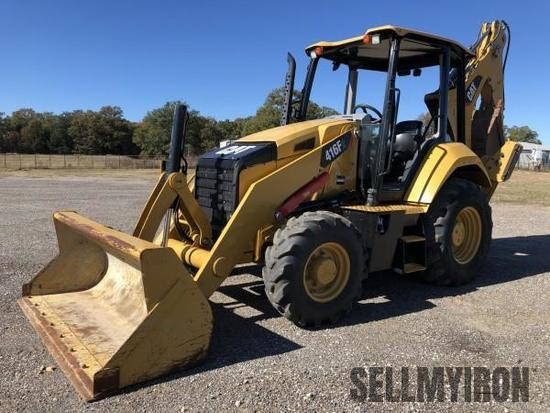2015 Caterpillar 416F2 4x4 Loader Backhoe [YARD 1]