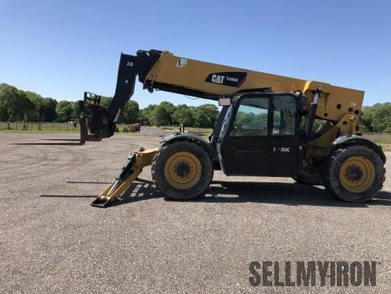 2012 Caterpillar TL1055C Telescopic Forklift [YARD 1]
