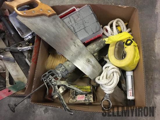Misc Box Lot of Tools