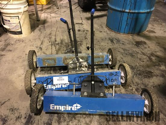 (3) 24in Heavy Duty Magnetic Sweepers