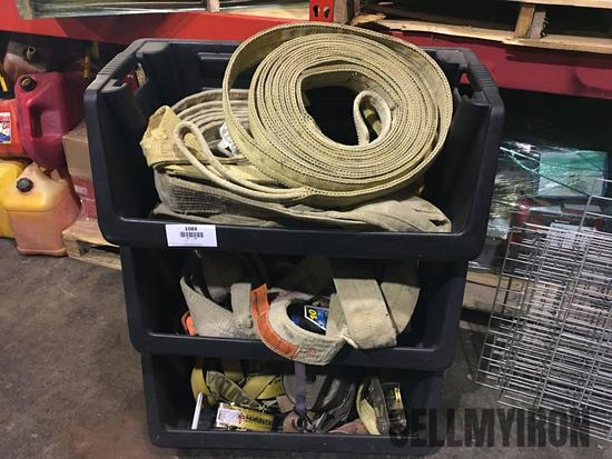 Qty of Heavy Duty Tow Straps
