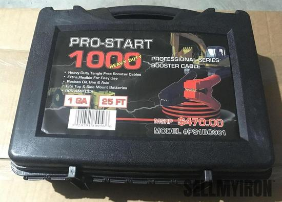 Unused Pro Start 1000 Heavy Duty Booster Cable