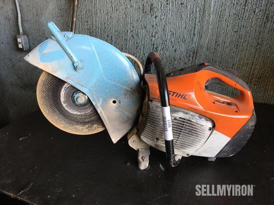 """Stihl TS 450 14"""" Concrete Cut-Off Saw"""