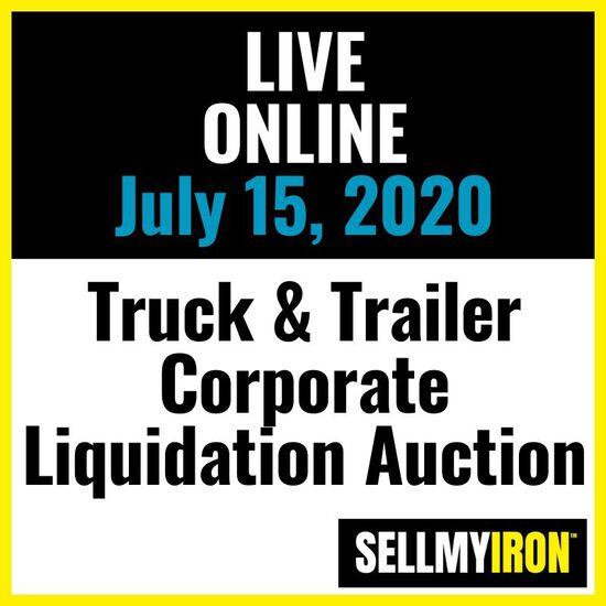 Truck & Trailer Corporate Liquidation Auction
