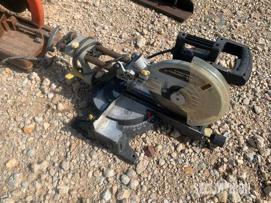 Chicago Electric 10in Compound Slide Miter Saw