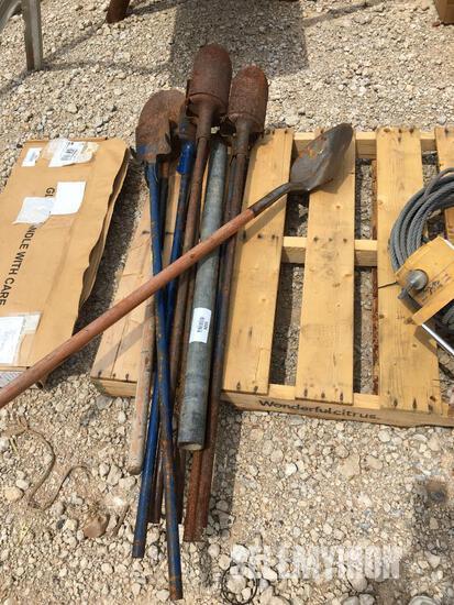 Qty of Shovels & Post Hole Diggers [YARD 2]