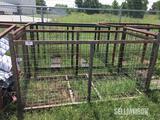 (2) 50x83 Wire Cage Junk Bin [YARD 2]