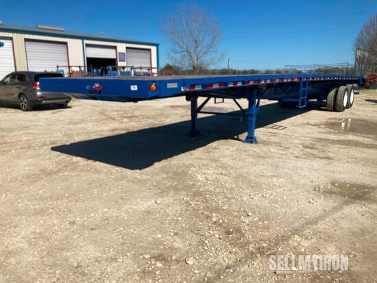 2013 Great Dane 48ft T/A Flatbed Trailer