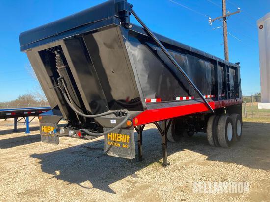 2015 HilBilt 24-26 XPS T/A End Dump Trailer