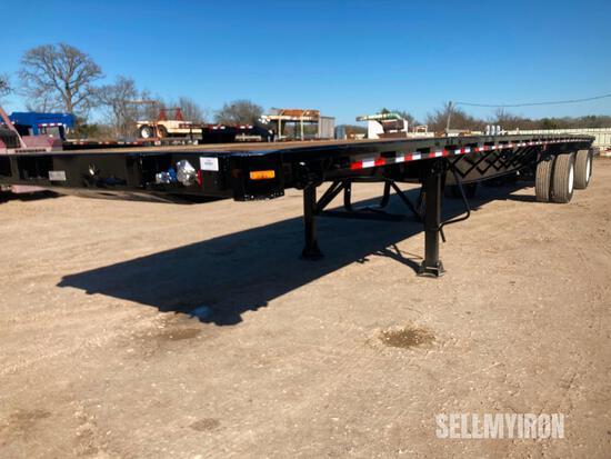 2000 Great Dane 48ft T/A Spread Axle Flatbed Trailer