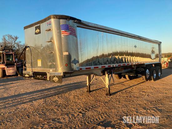 2017 Trailstar 35ft Tri/A Aluminum End Dump Trailer