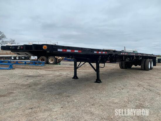 2010 Fontaine 48ft T/A Extendable Flatbed Trailer