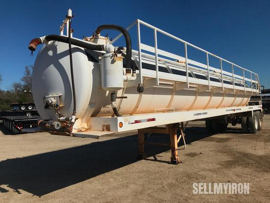 2008 Troxell 130BBL T/A Vacuum Trailer