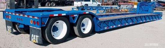 2009 Trail King TK70HDG-442 T/A RGN Lowboy Trailer