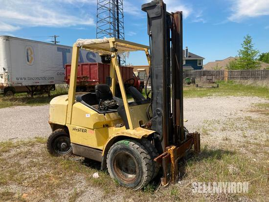 Hyster H80XM Forklift, Parts Only [YARD 3]