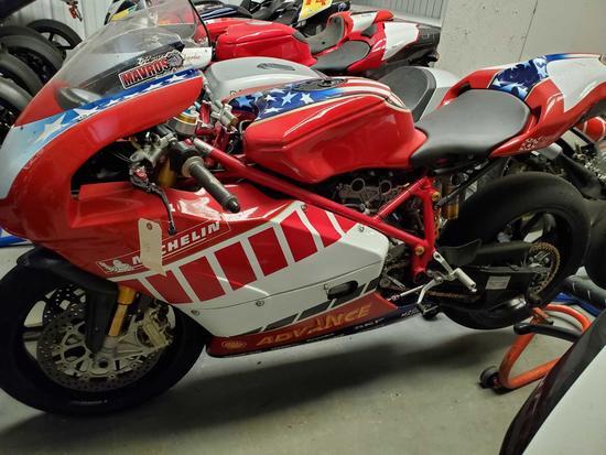 2004 Ducati 749R Race Bike