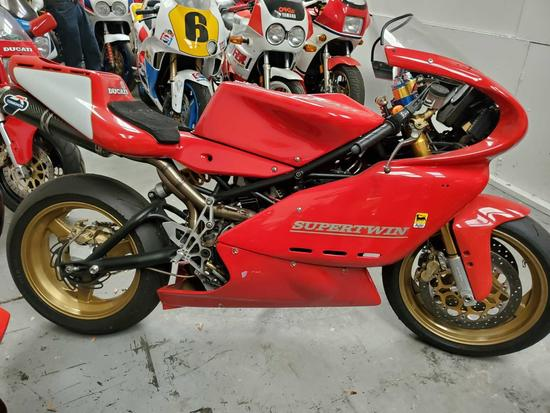 1995 Ducati Troll Super Twin Race Bike