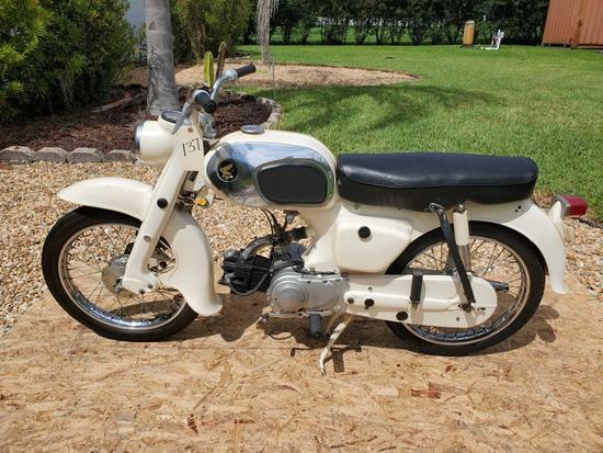 1968 Honda Dream 90