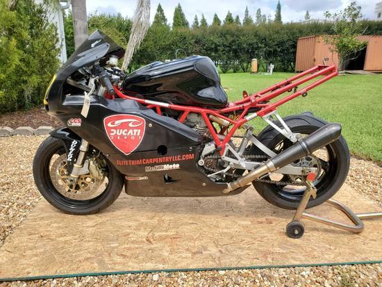 2006 Ducati SuperSport 1000 Race Bike