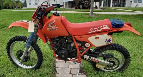 1985 Honda XR600R