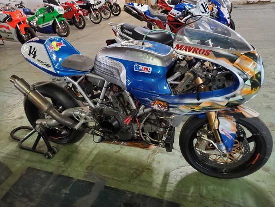 2006 Ducati Paul Smart 1000 LE Race bike