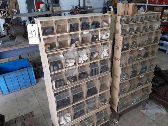 DOUBLE SIDED STANDING DRAWERS