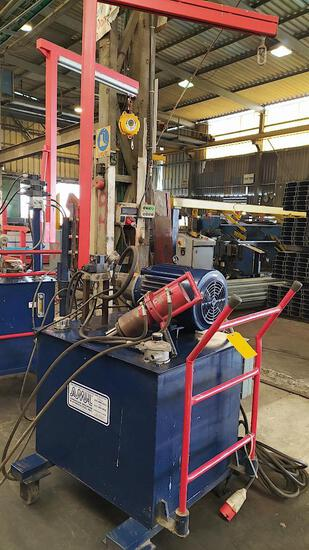 AMERICAN MACHINES & HYDRAULICS TUBE EXPANDER